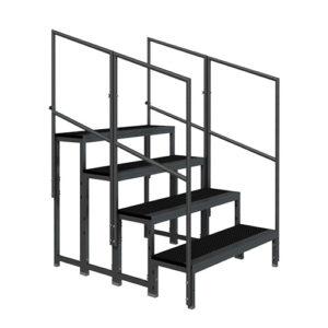 Modular stair steps
